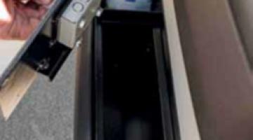 safe for ducato door