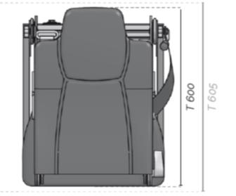 Aguti Folding Seat Dimensions